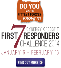 Cynergy CrossFit First Responders Challenge